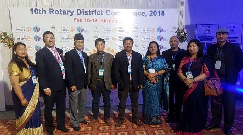 10th District Conference of RI District 3292 Nepal-Bhutan