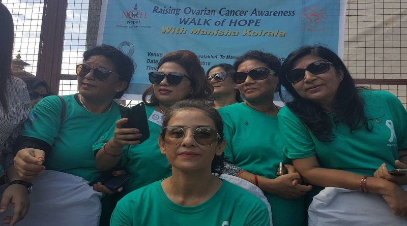 Raising Ovarian Cancer Awareness – Walk of Hope with Manisha Koirala